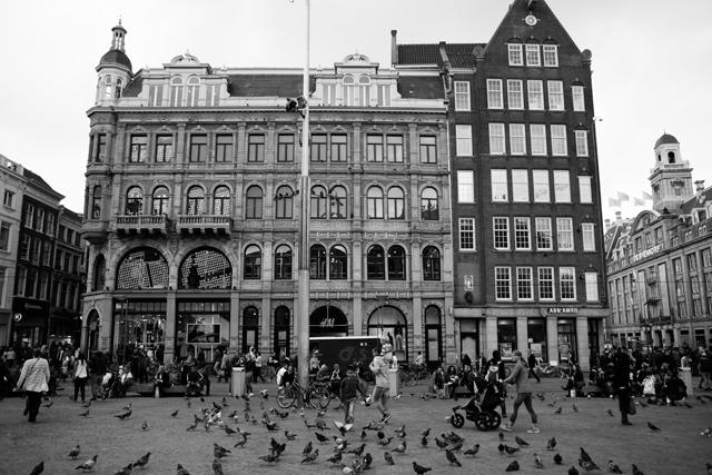 place de DAM amsterdam