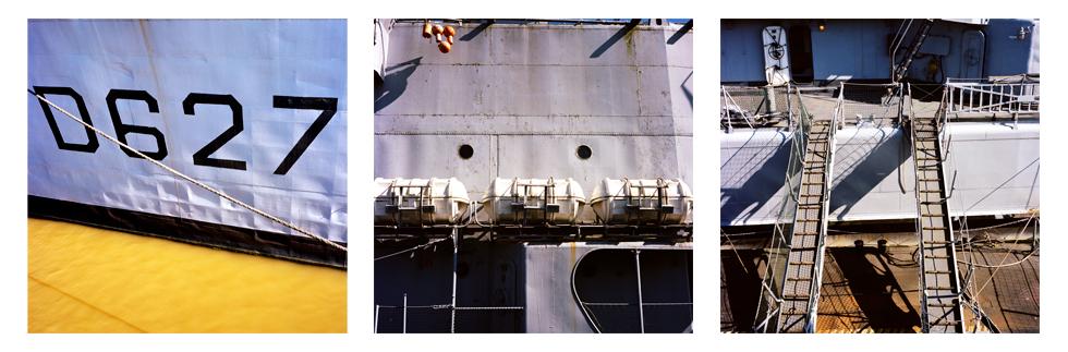 Triptyque du bateau le maillé brézé
