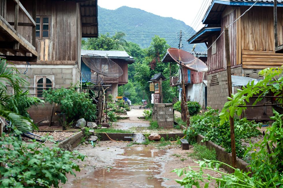 Mong Noi au Laos : .