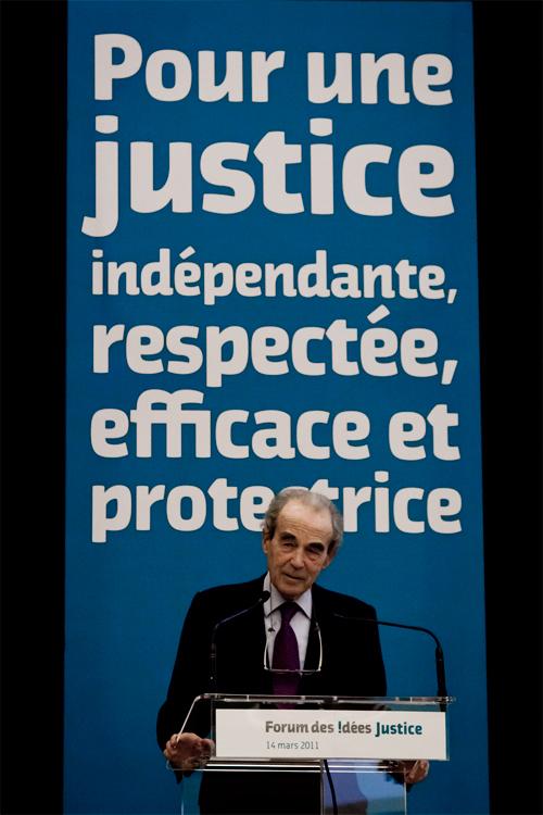 Robert Badinter meeting PS