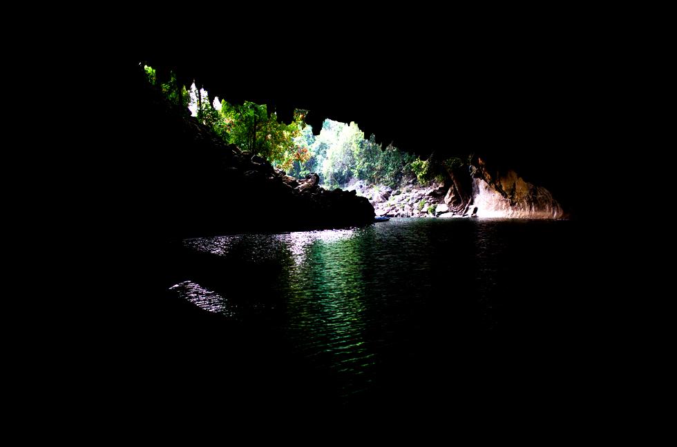 Grotte, Boucle de Thakhek, Sud Laos : .
