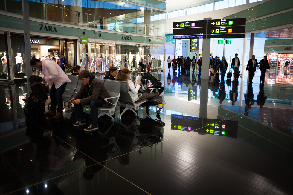Aéroport de Barcelone : .