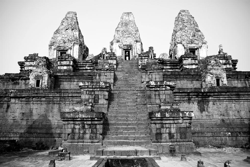 Angkor, Cambodge : .