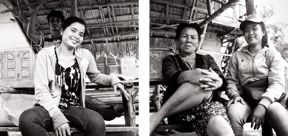 Villageoises au village de Bane Tiane Laos : .