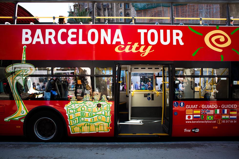 bus touristique de barcelone