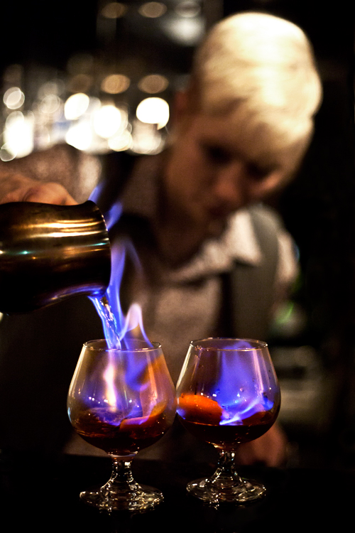 Charly Bartender au Berlin Bar Melbourne : .