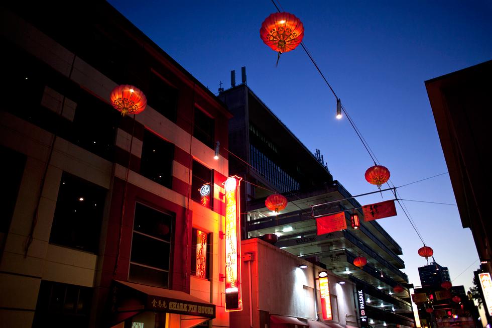 ChinaTown à Melbourne : .