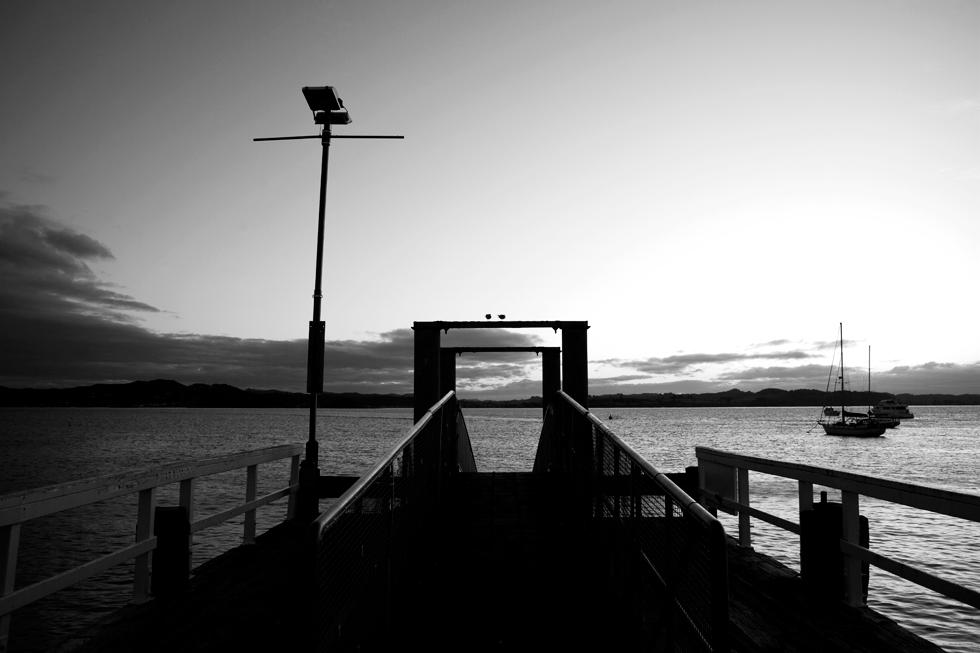 Port de Russell, Bay of Island, Nouvelle Zélande : .