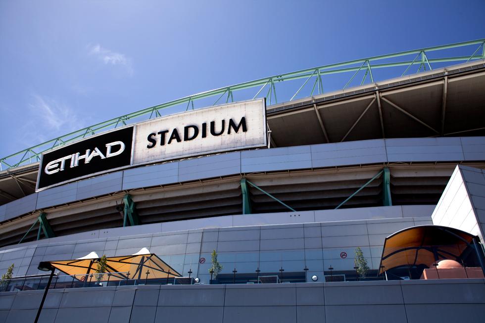Etihad Stadium, Docklands à Melbourne : .