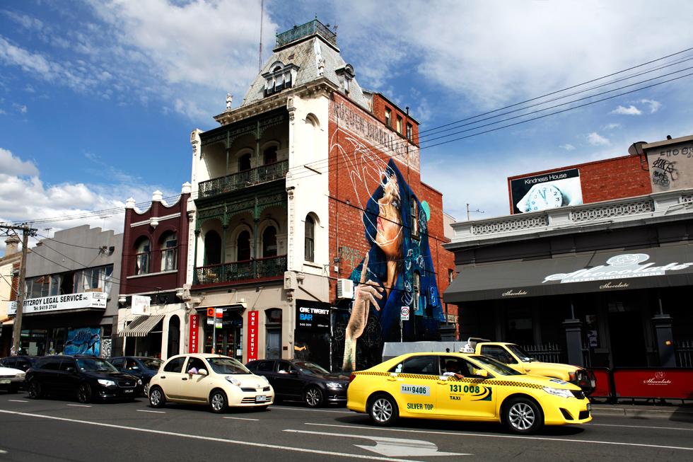 Quartier Fitzroy à Melbourne : .