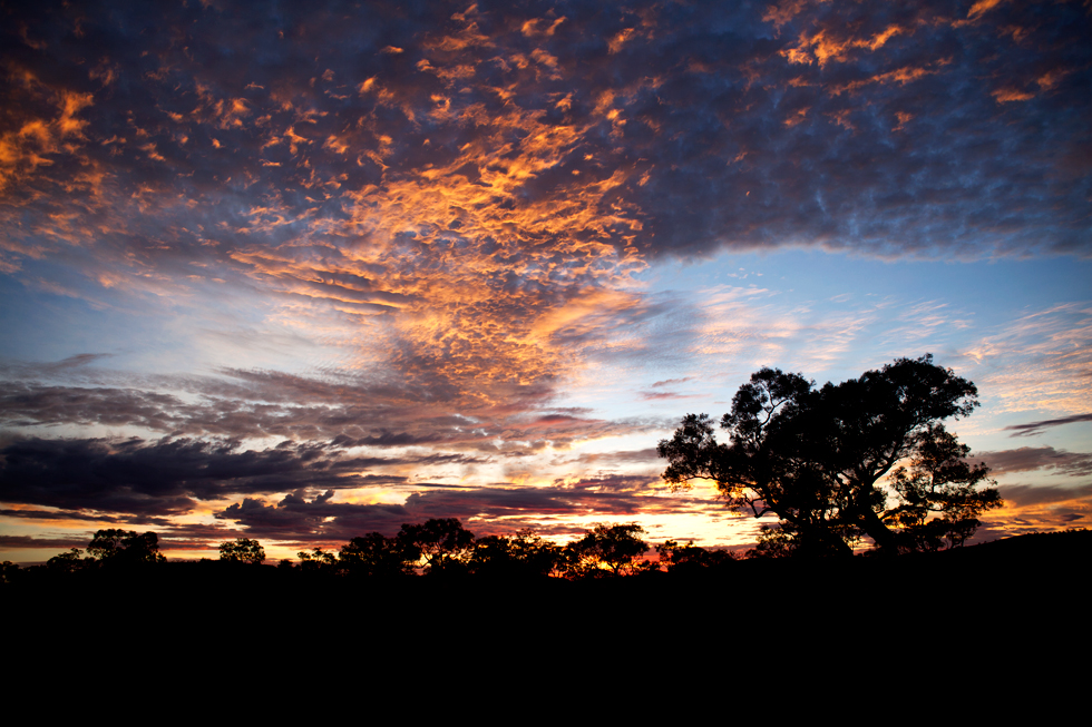 Levée de soleil à Karijini, Western Australia : .