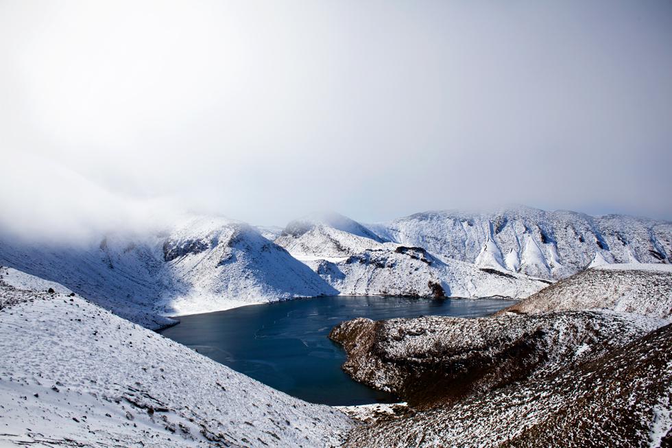 Parc national du Tongariro, Nouvelle Zélande : .