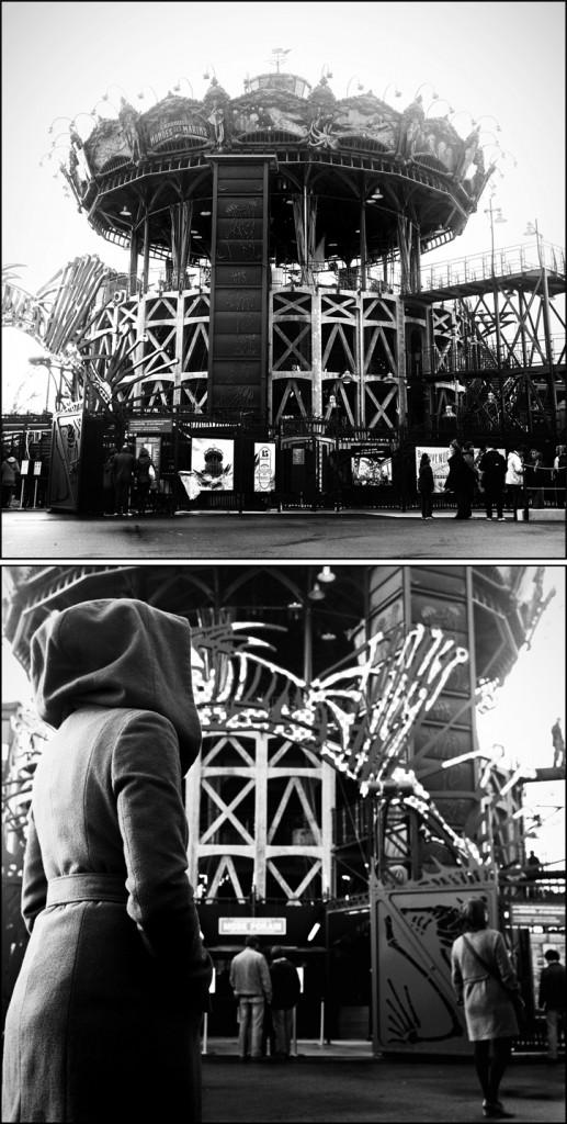 Diptyque Carrousel : Nantes. Carrousel.