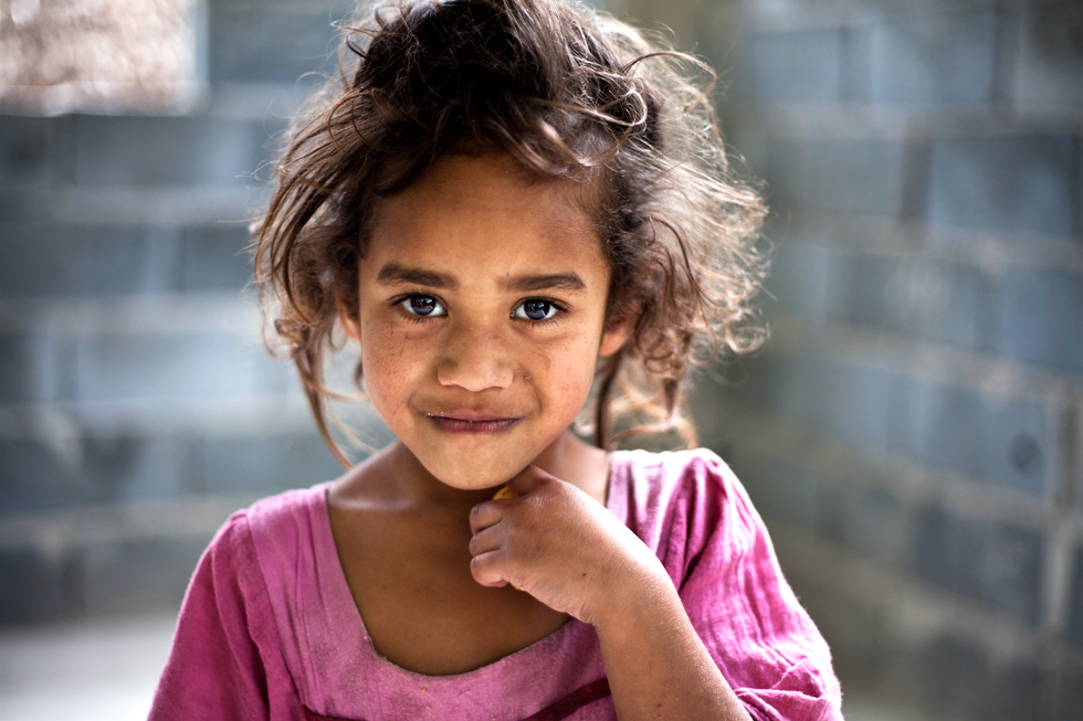 Jeune kanak sur l'île de Mare, Nouvelle Calédonie : .