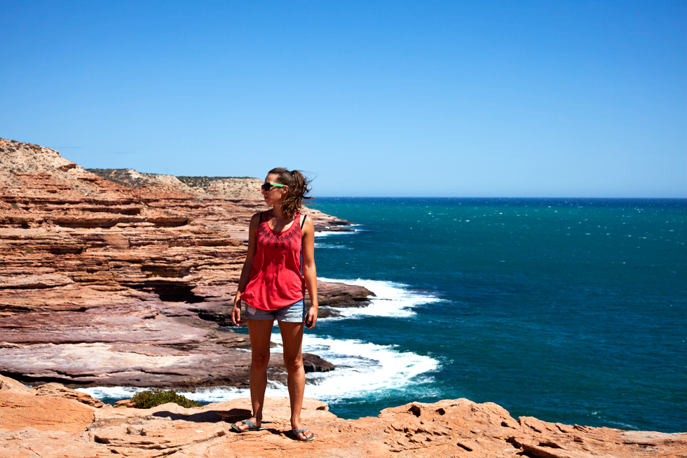 Côte Kalbarri, Western Australia : .