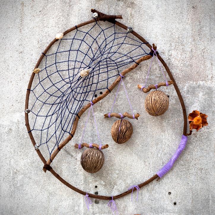 «Nacelles, Terre & Mer» Sculpture / Mes ptites mains : .