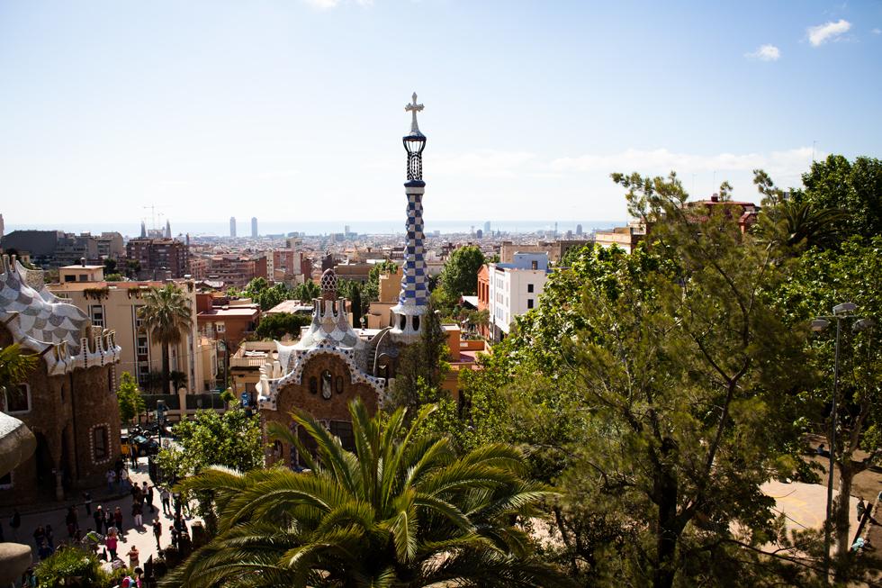 parc guel gaudi barcelone