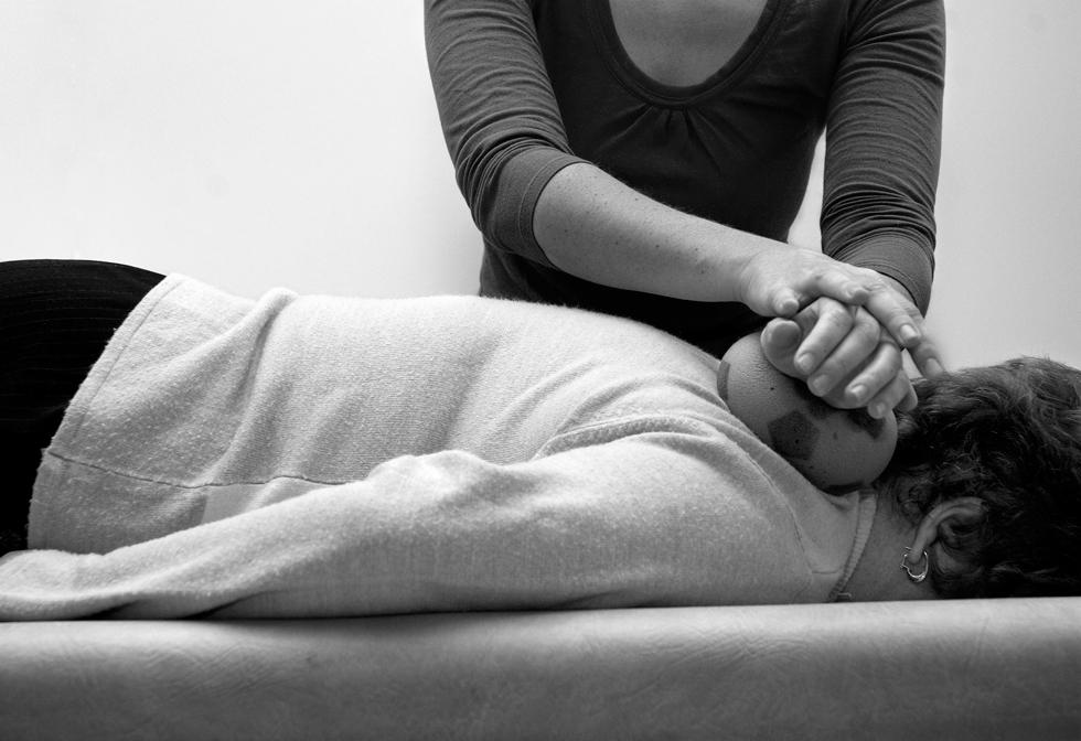 patient en rééductaion séance relaxation