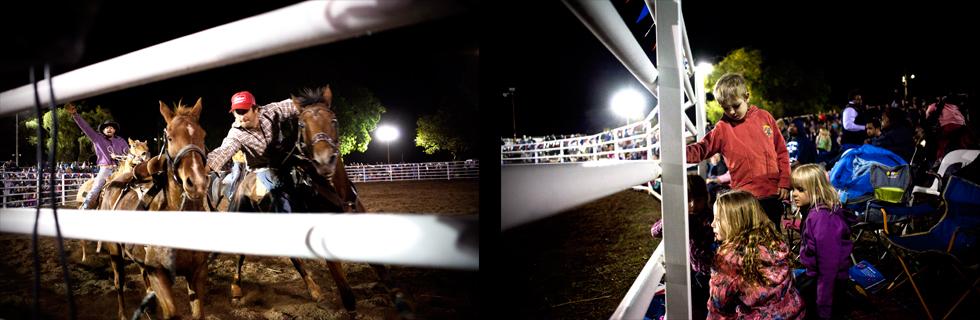 Compétition de Rodéo à Kununurra, Western Australia : .