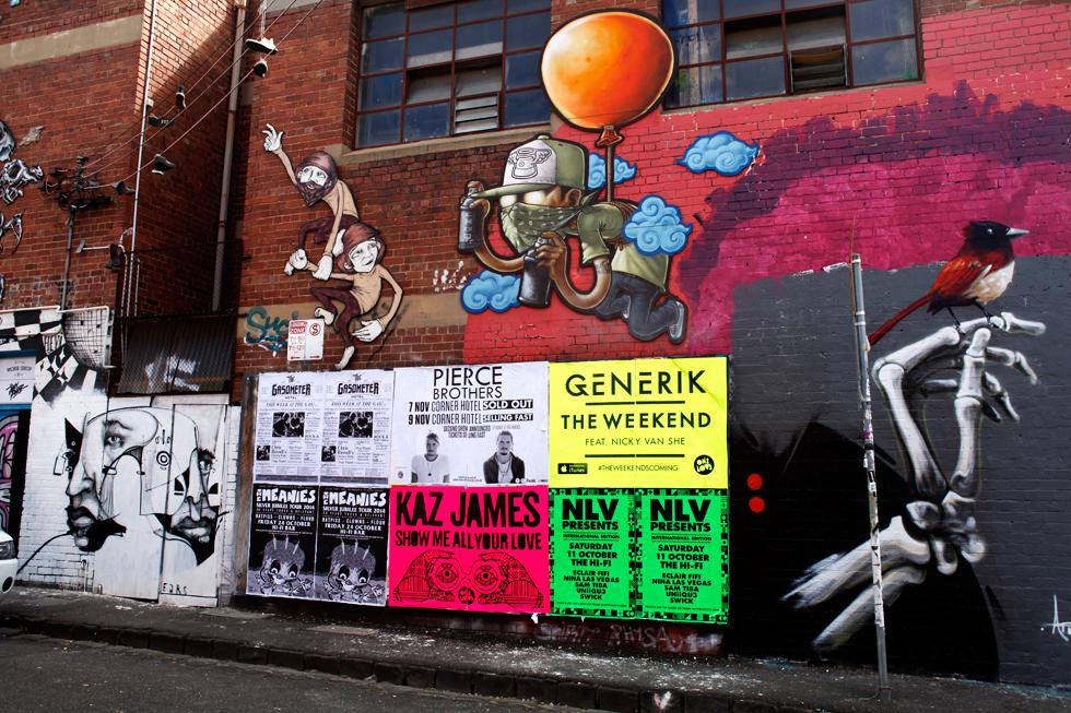Quartier Fitzroy à Melbourne OZ : .