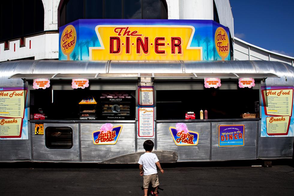 Food Truck à Luna Park, St Kilda à Melbourne : .