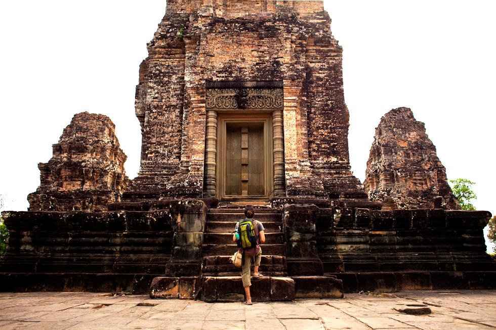 Tinou à Angkor, Siem Reap, Cambodge : .