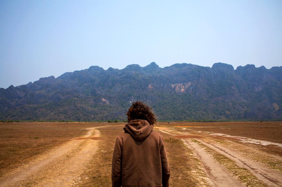 Tinou sur la boucle de Thakhek, Laos : .