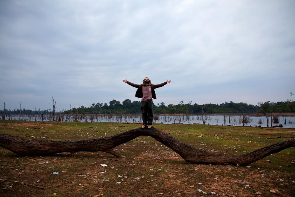Tinou à la boucle de Thakhek, Laos : .