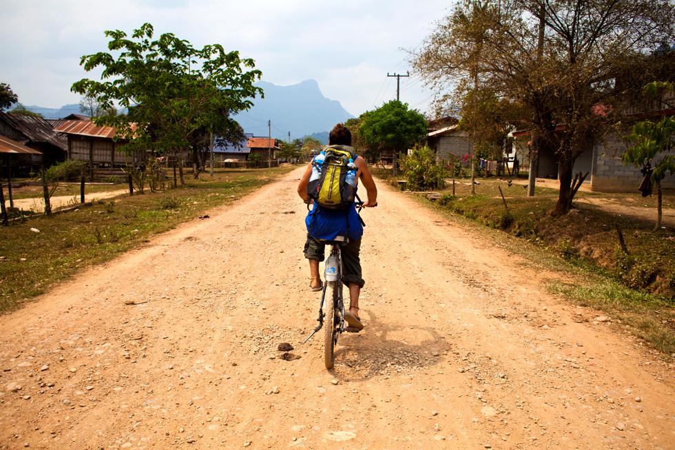 Tinou à Vang Vieng, Laos : .
