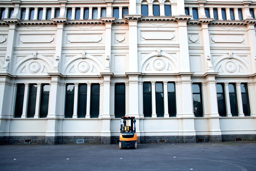 Palais Royale des Expositions à Melbourne : .