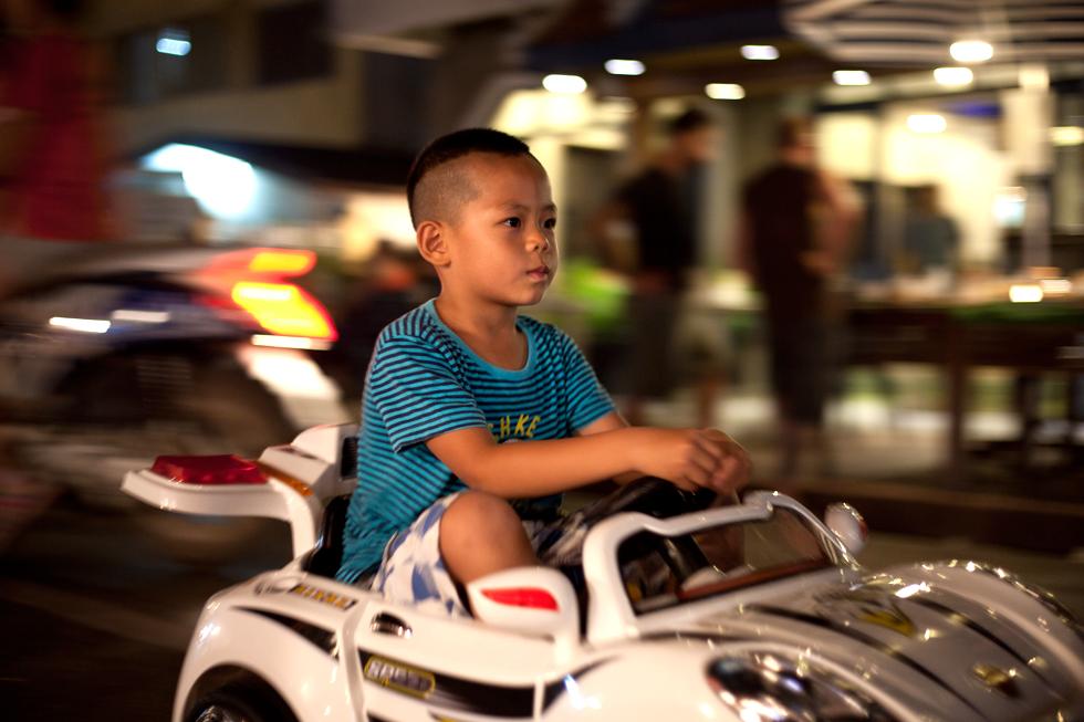 Au Marché de nuit à Luang Prabang Laos : .